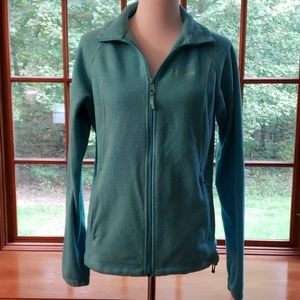 Columbia Coat Jacket.  Teal/Turquoise.  Size Large